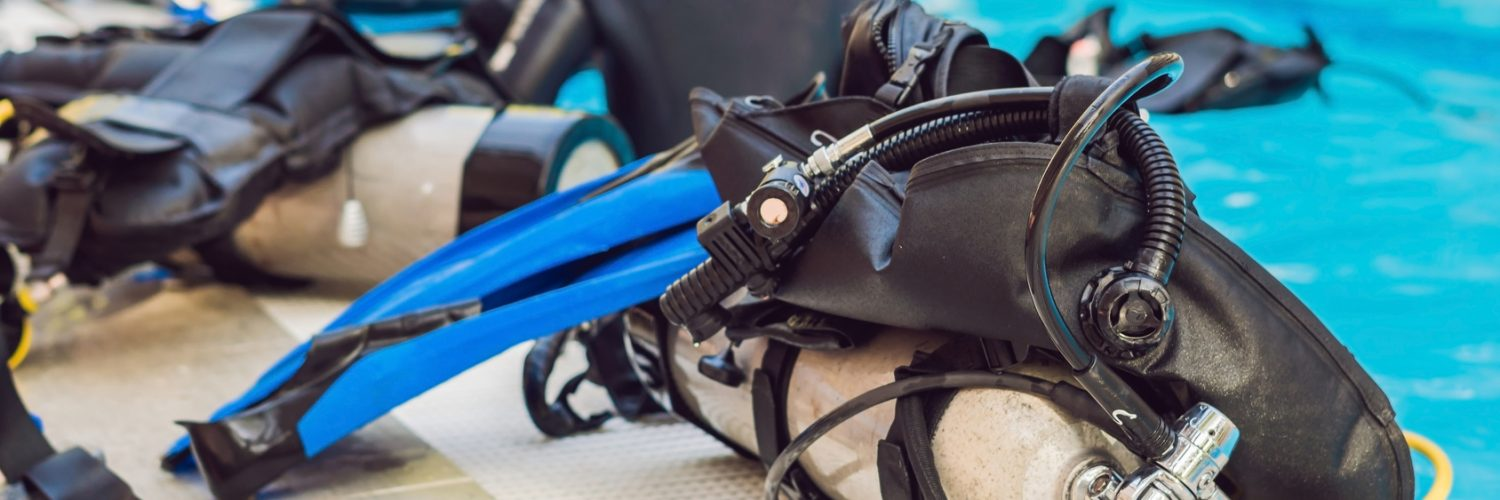 Second-hand diving equipment