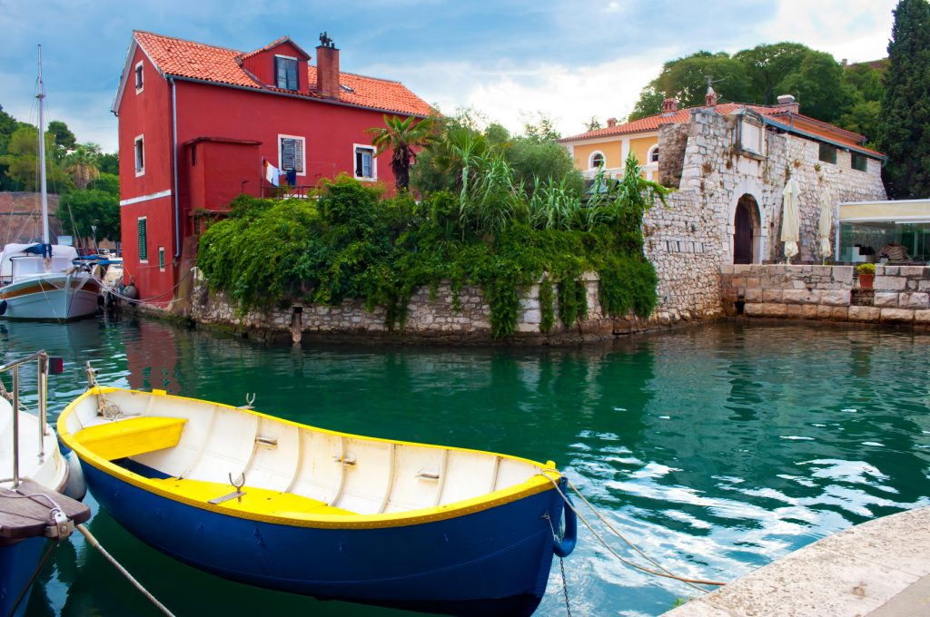 Cozy picturesque town of Zadar, Croatia.